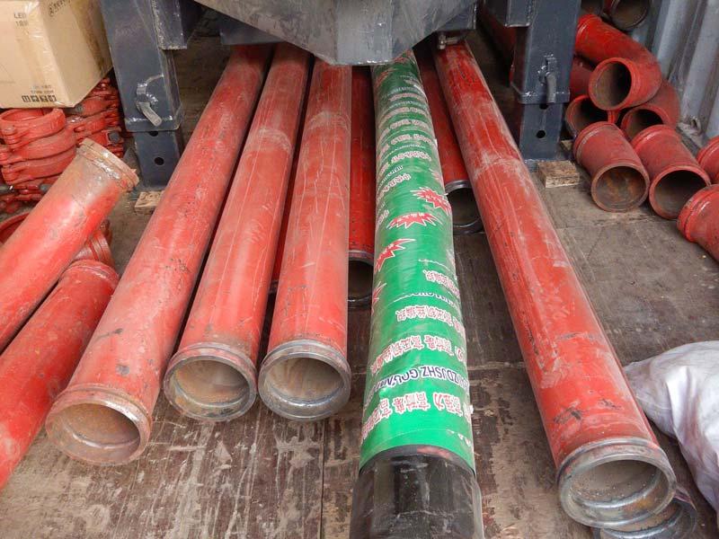 AIMIX ABT30C concrete pump loaded