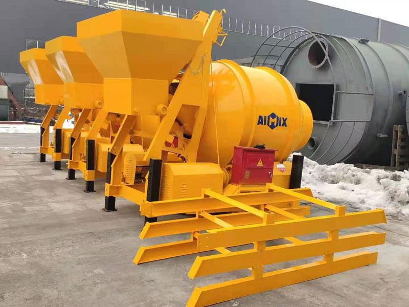 AIMIX JZM450 concrete mixer to Indonesia