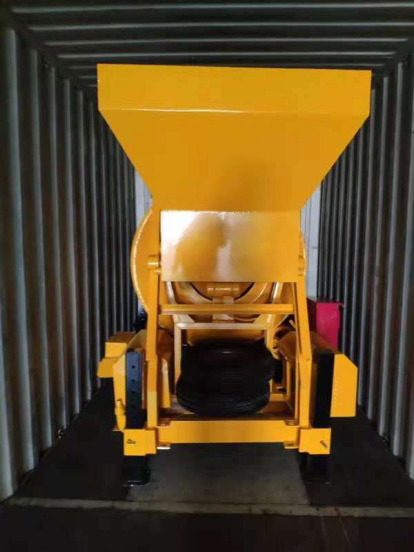 JZM450 concrete mixer to Indonesia loaded