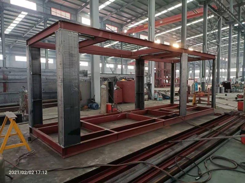 100 ton asphalt plant production work shop