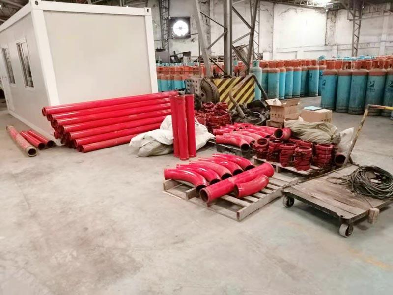 40 mixer pump discharged