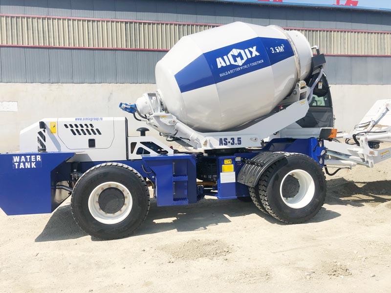 3.5B self loading mixer to Kazakhstan