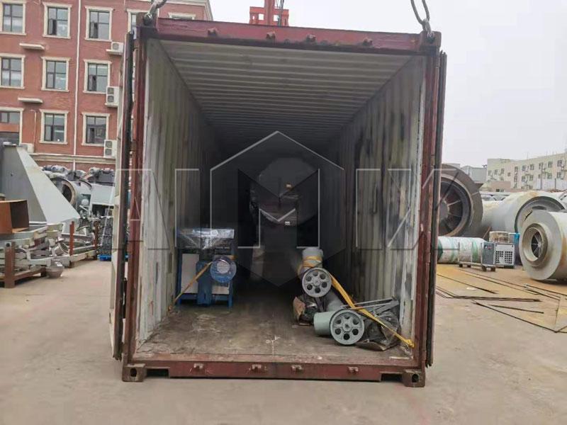 AIMIX 3t tile adhesive plant loading