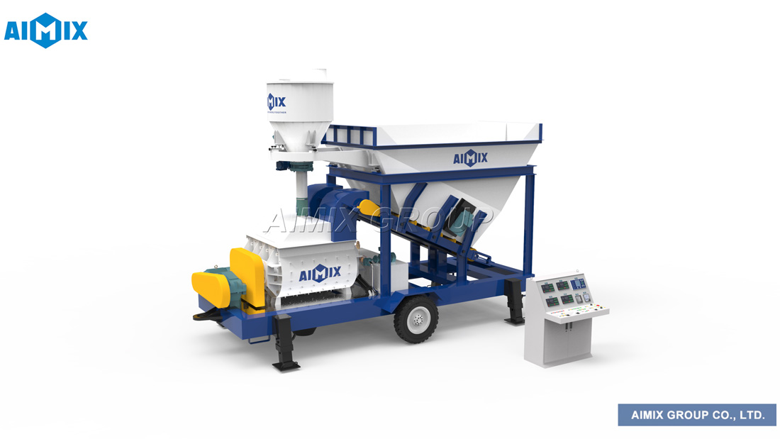 AJS-25 mobile batching plant
