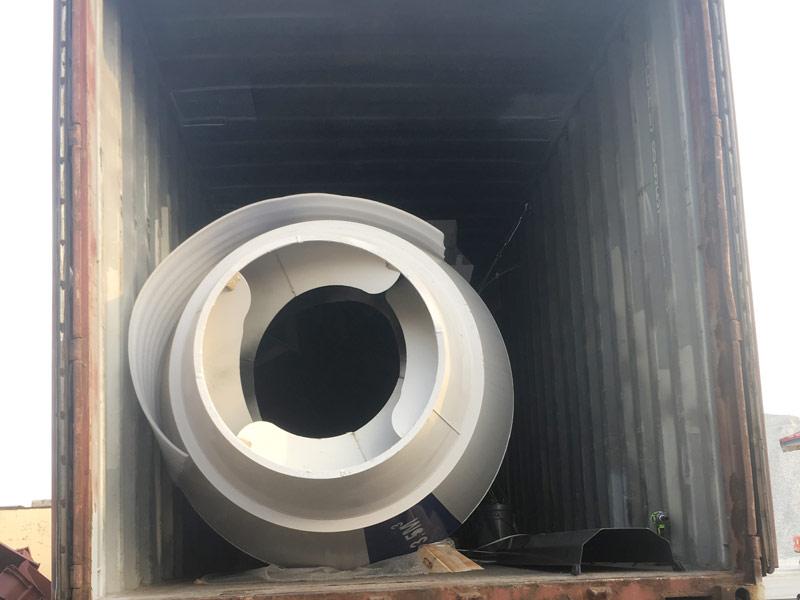 AS3.5B self loading mixer to Kazakhstan