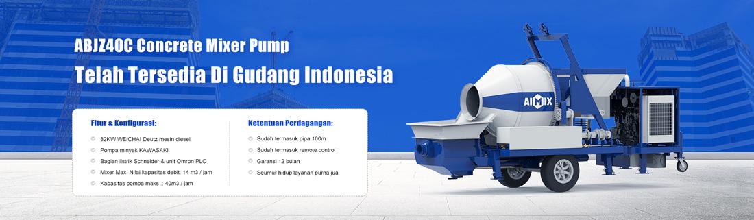 pompa mixer tersedia in Indonesia