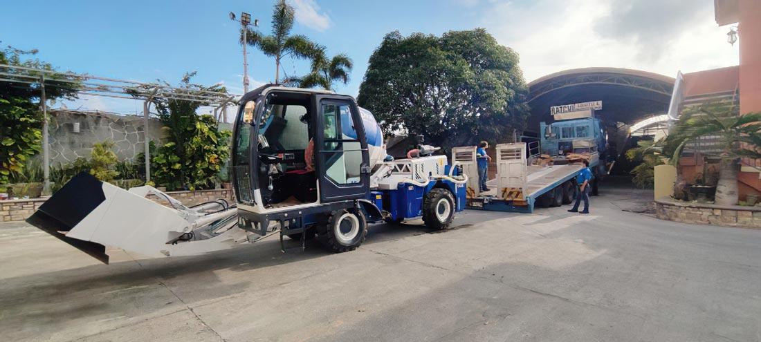self loading mixer in Manila