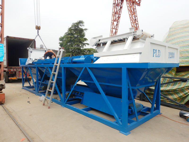AJ35 batching plant loading site