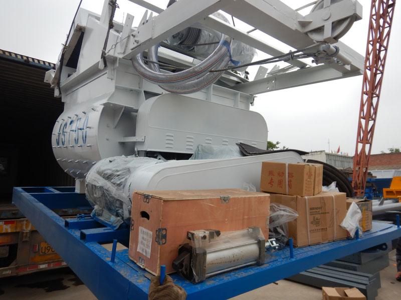 batching plant sent to Uzbekistan