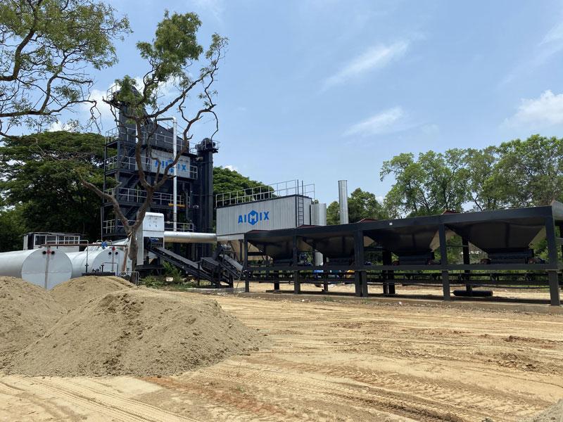 100t asphalt mixing plant