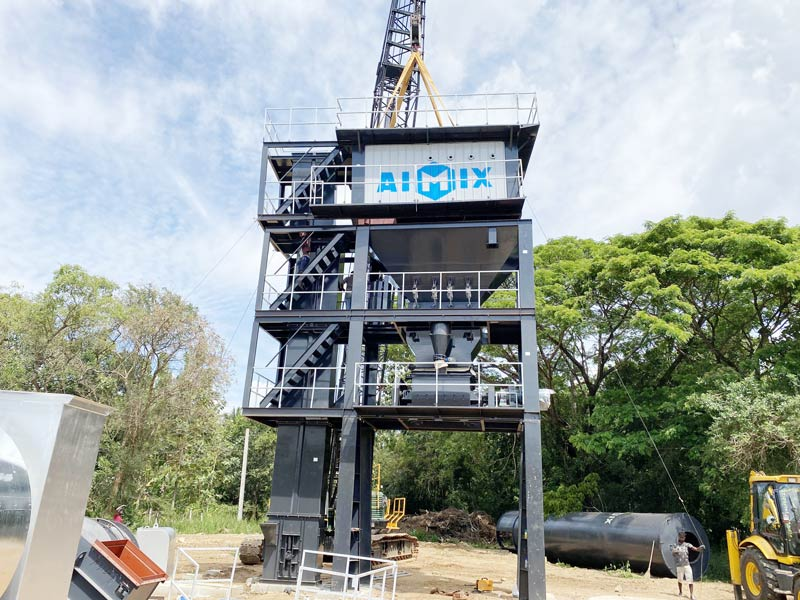 AIMIX asphalt plant in Sri Lanka
