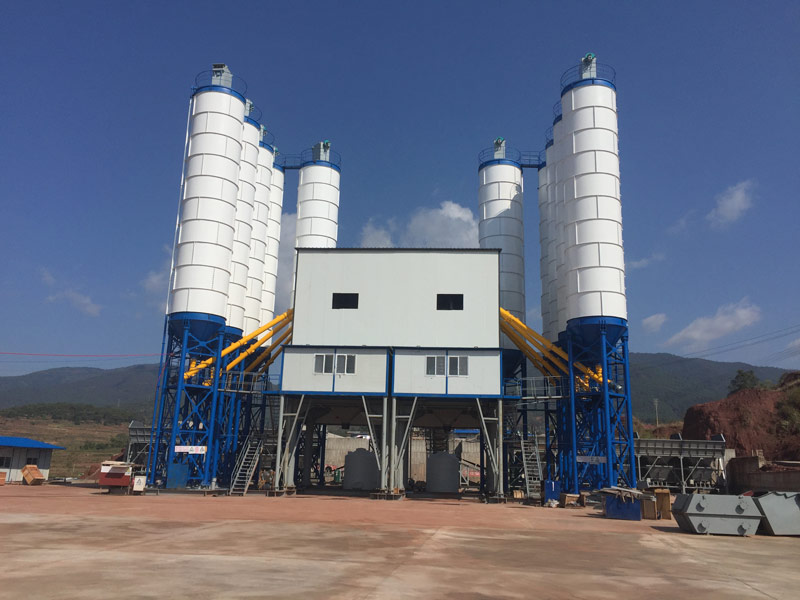 AJ120 batching plant in Uruguay