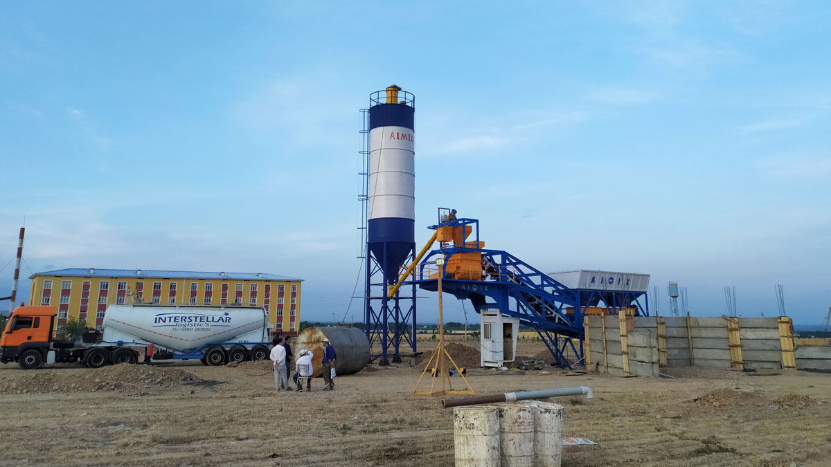 AJY-35 mobile batching plant