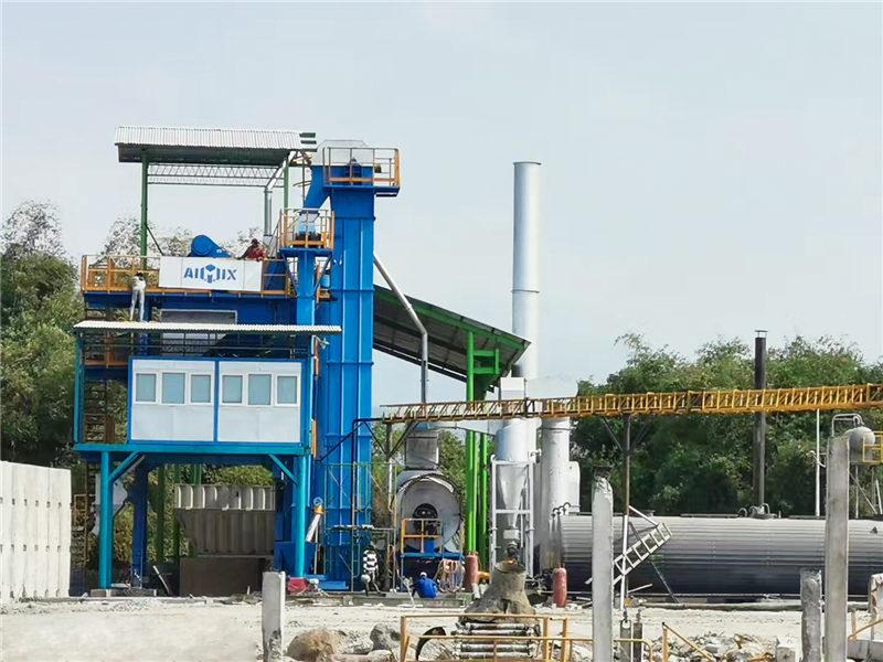 ALQ100 Asphalt Plant in Indonesia