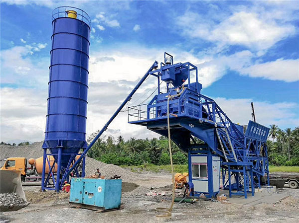 AJY60 mobile batching plant