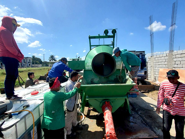 ABJZ40C mixer pump in the Philippines
