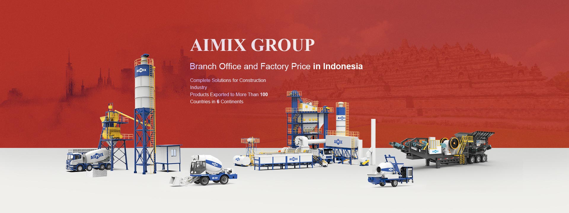 AIMIX Group in Indonesia