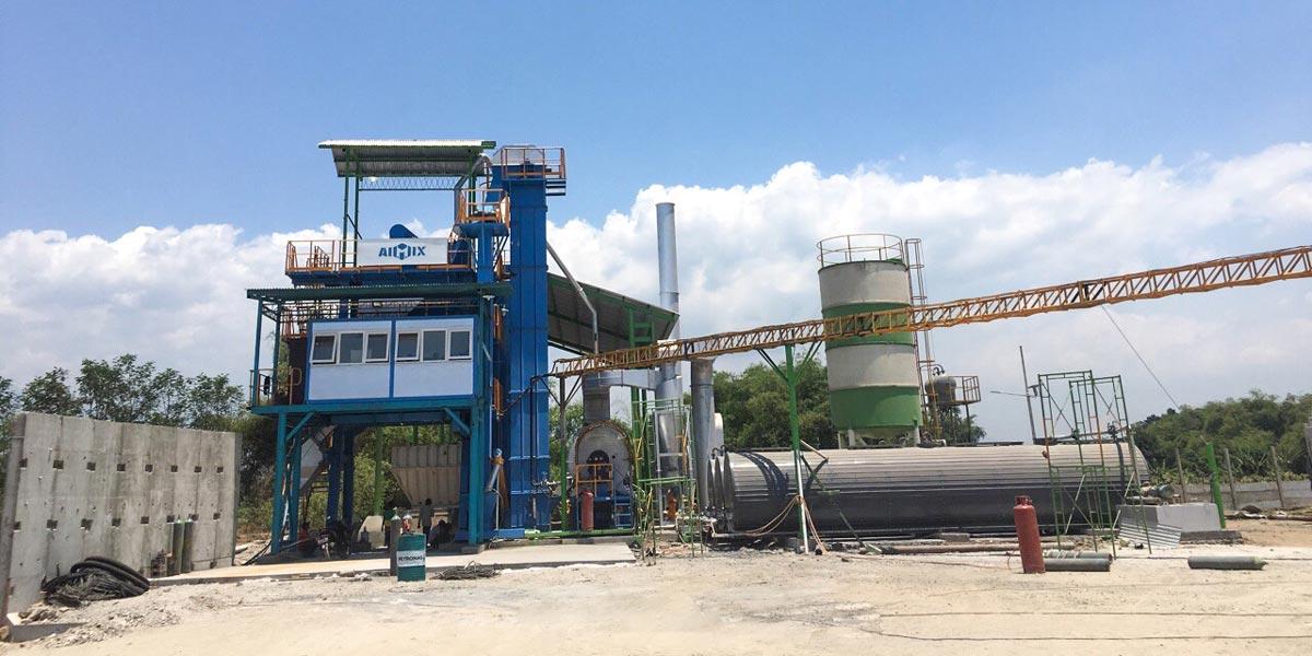 AIMIX asphalt plant