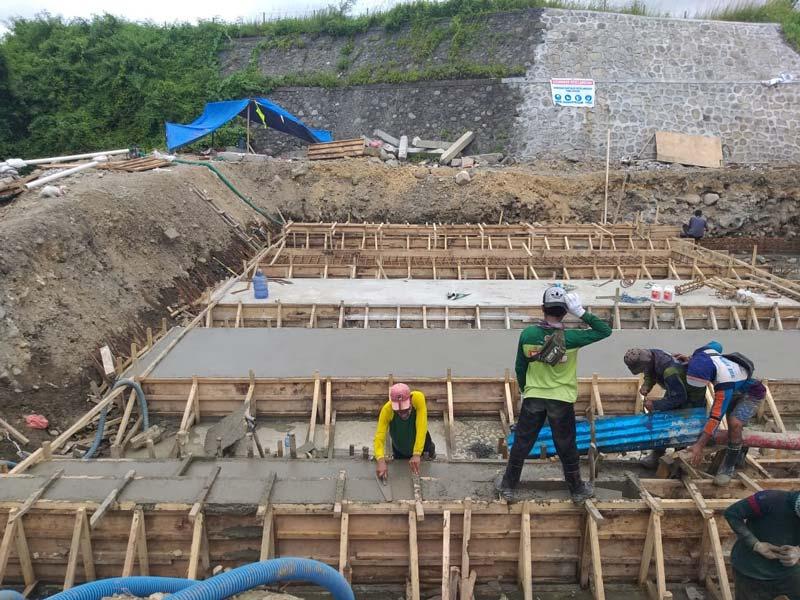 AIMIX concrete pump site