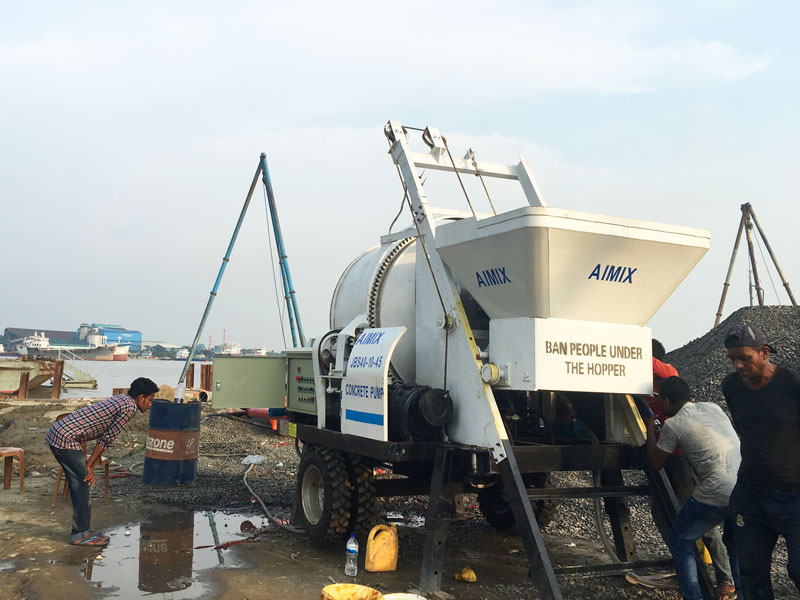 electric mixer pump in Indonesia