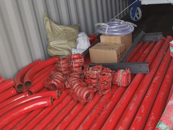 mixer pump spare parts loaded