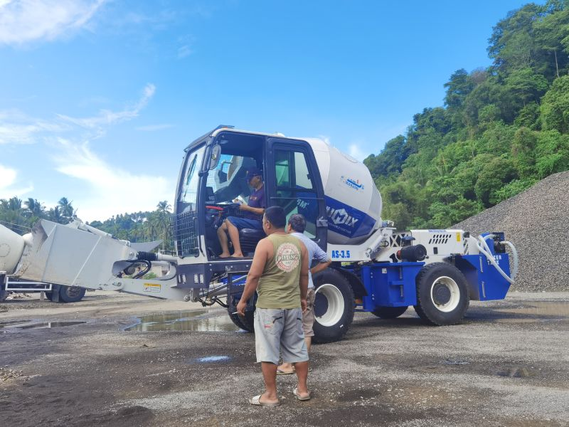 AS3.5 self loading mixer in Indonesia