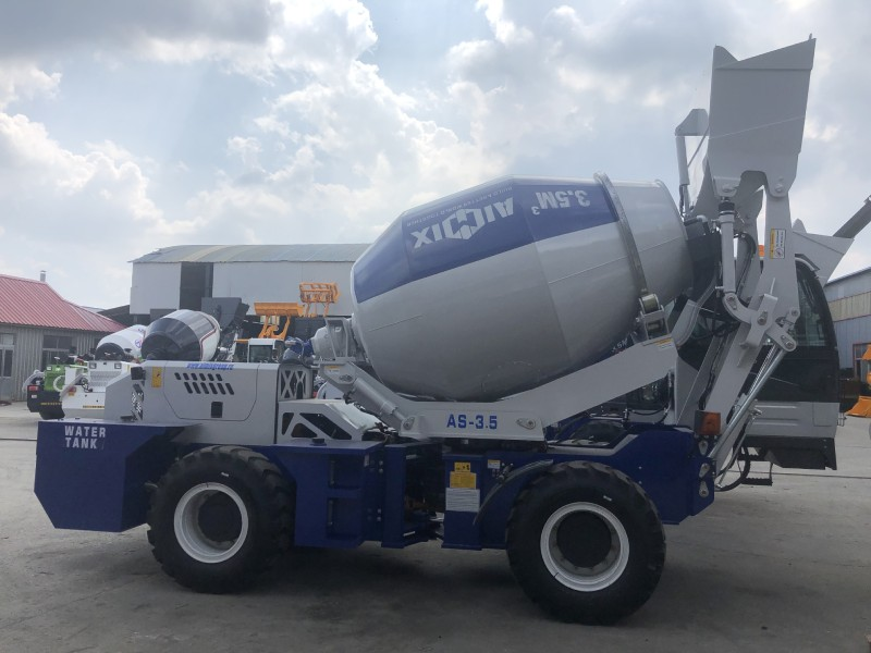 AS3.5 self loading mixer