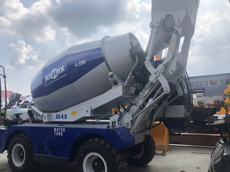 AS4.0 self loading mixer to Russia
