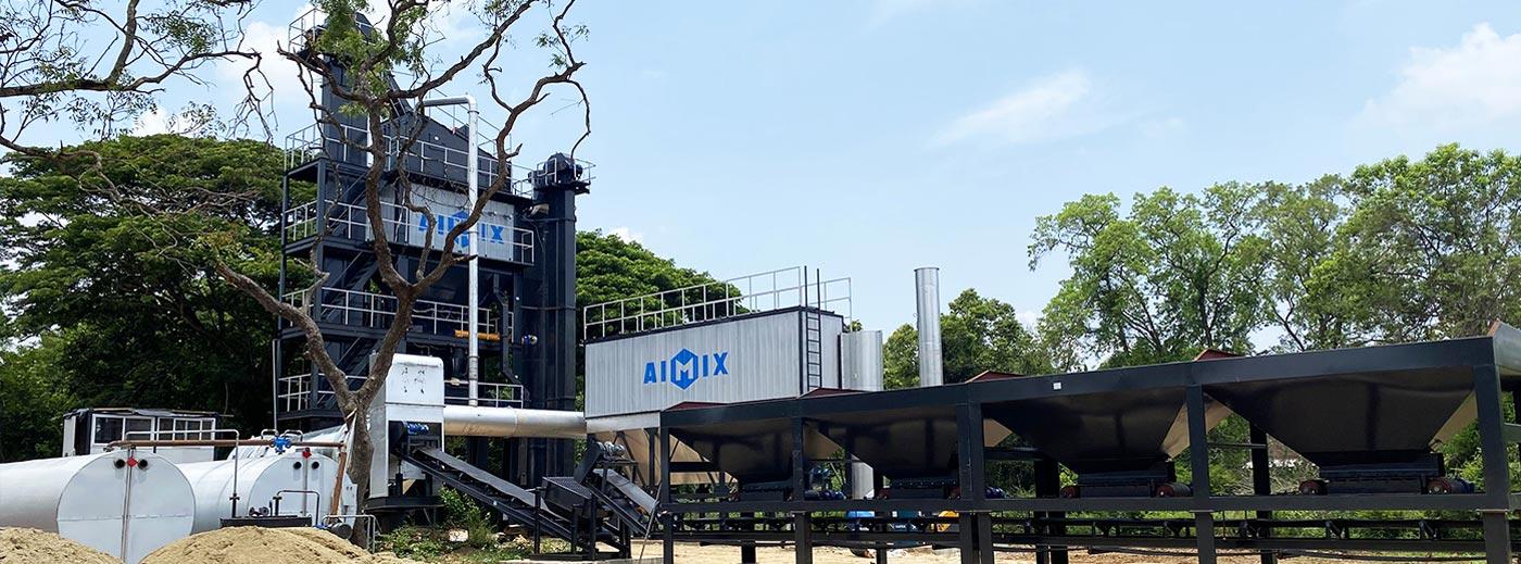 Asphalt Mixing Plant In Indonesia