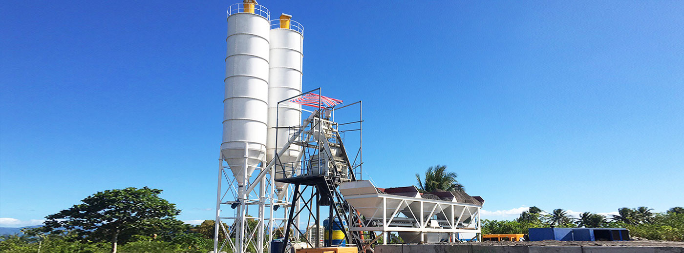 Batching plant in Indonesia