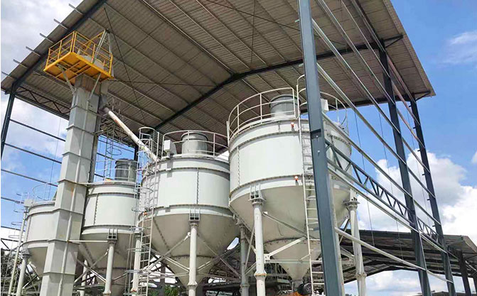 Dry Mortar Plant In Indonesia