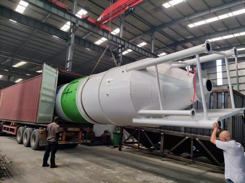 AIMIX cement silo to Indonesia